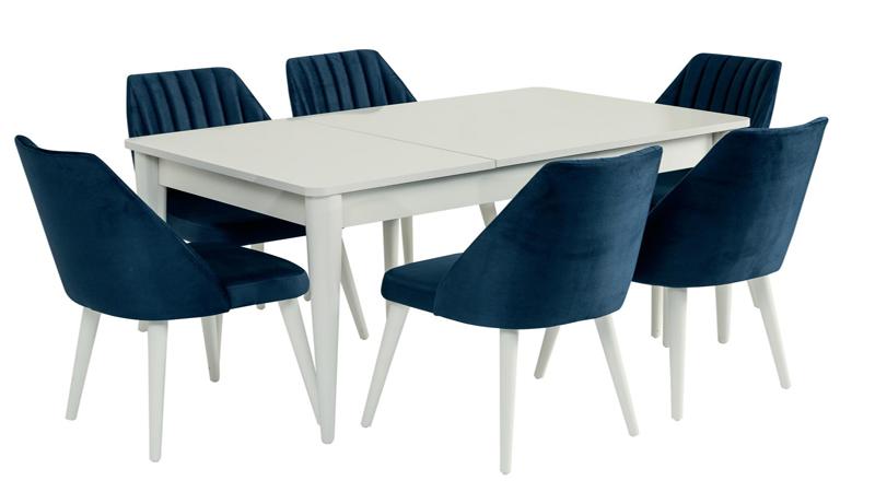 Torino Masa Sandalye Beyaz