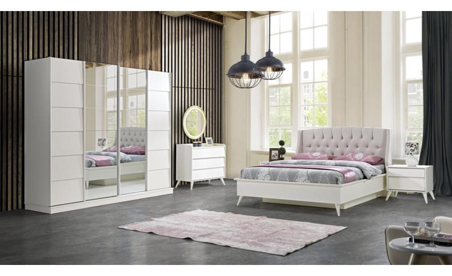 Armoni Beyaz Yatak Odası