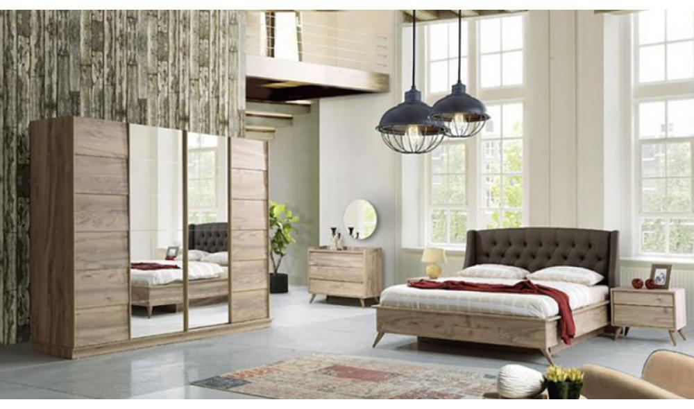 Armoni Ceviz Yatak Odası
