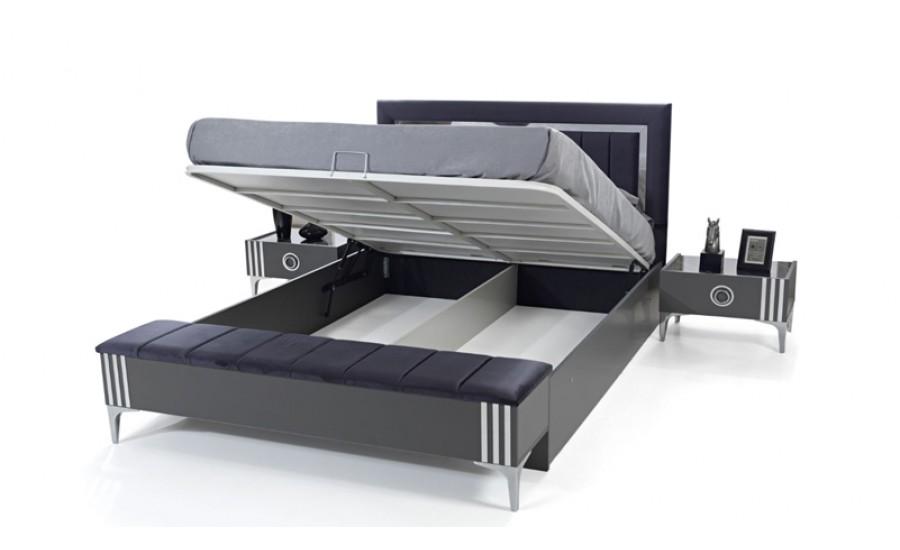 Asel Antrasit Yatak Odası