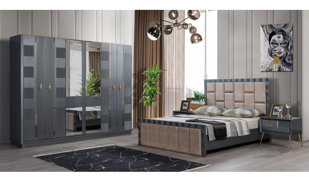Nizaru Antrasit Yatak Odası